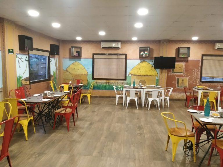 The pine restaurant in Patliputra