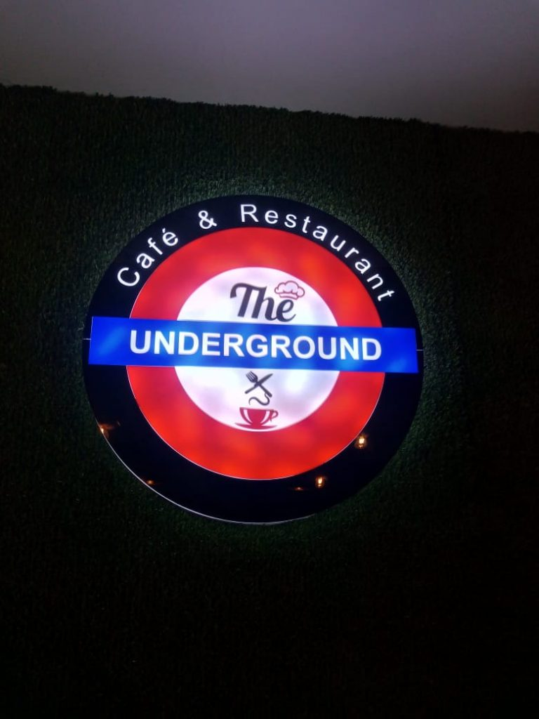 The underground cafe and restauarnt